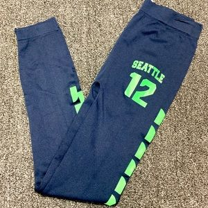 NFL Seattle Seahawks tights